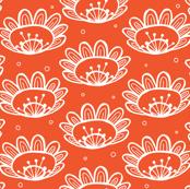 Pollen (in Orange)
