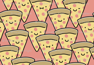 Pizza Buddies - Coral