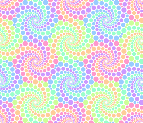 06720833 : pointless pointillism pastels fabric by sef on Spoonflower - custom fabric