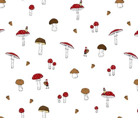 The Family fabric by hanukalohrengel on Spoonflower - custom fabric