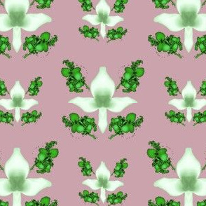 Fractal Trillium, White