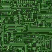 Circuit Board // Green