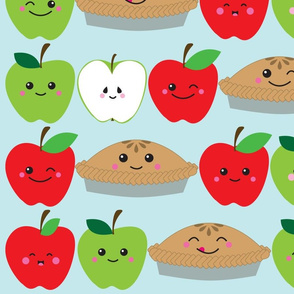 kawaii apple pie