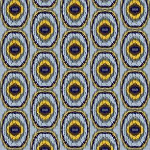Shattering-navy,yellow,grey
