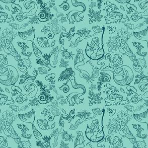 Mermaids-sea