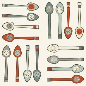 Spoons - Cream