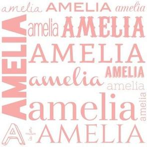 Amelia in Blush