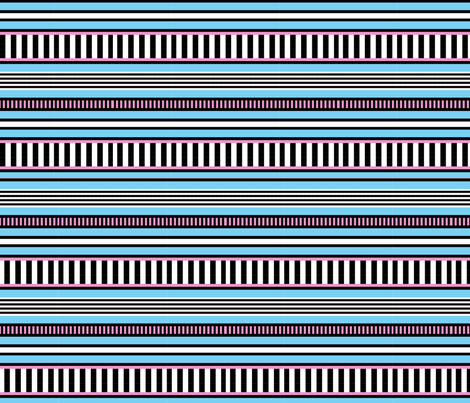 memphis_stripes fabric by ecs-designs on Spoonflower - custom fabric