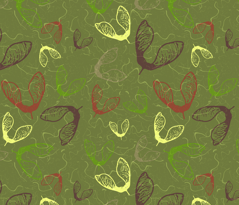 Chilly Autumn fabric by dejareve on Spoonflower - custom fabric