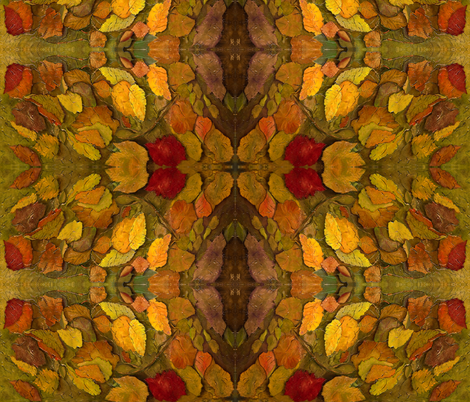 Autumn Falling fabric by monirose2 on Spoonflower - custom fabric