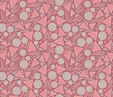 Geometric Party (Celebrate) fabric by brendazapotosky on Spoonflower - custom fabric