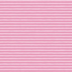 wonky stripes - pink-rose