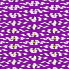 Tatami Diamonds - Purple