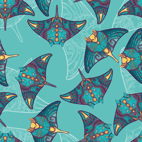 Ocean manta ray