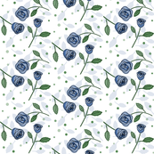 Sweet roses_blue