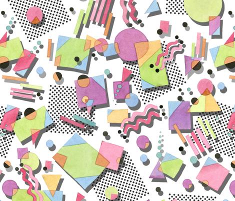 Totally rad! fabric by patriciasheadesigns on Spoonflower - custom fabric