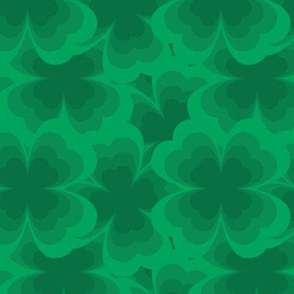 Green Clover Pattern