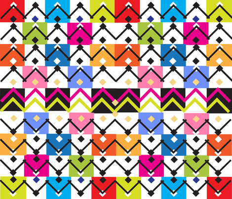 SOOBLOO_MEMPHIS_2_S-01 fabric by soobloo on Spoonflower - custom fabric