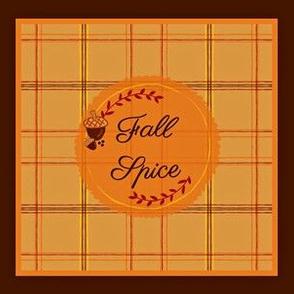 Fall Spice Sachet- pillow/pouch