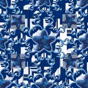 Fancy Blue Stars