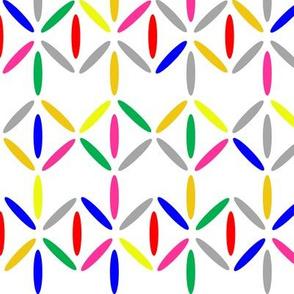 diamond bars multicolour