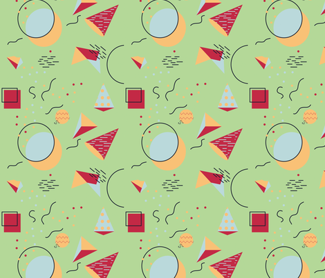 Memphis Style  fabric by svaeth on Spoonflower - custom fabric