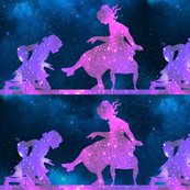 Rspoonflower_cosmic_sitting_cinderella_blue_black_bg_shop_thumb
