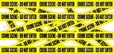 2 crime scene do not enter stay out barricade notice warning barrier police tape pop art caution novelty life sized jokes gags
