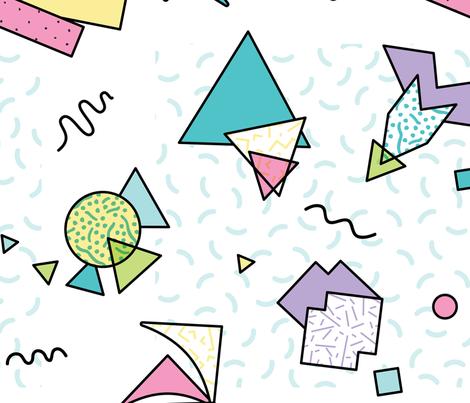 Memphis Swing fabric by illustratedibex on Spoonflower - custom fabric
