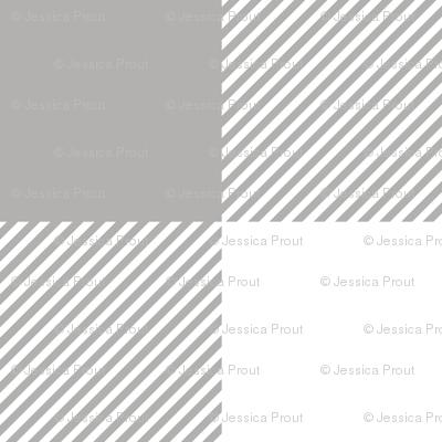 grey and white buffalo plaid - plaid fabric