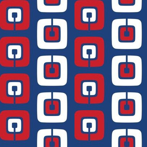 Mod Chain - Red, White & Blue
