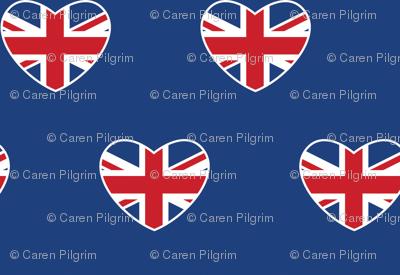 British Hearts - Union Jack Blue