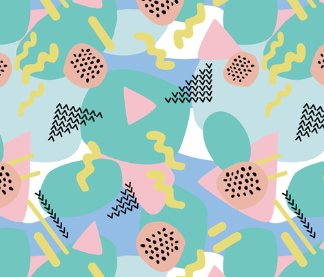 Party Time fabric by ellie_b_funk on Spoonflower - custom fabric