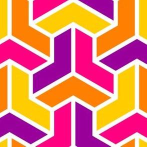 06724690 : chevron 3 x4 : oriental
