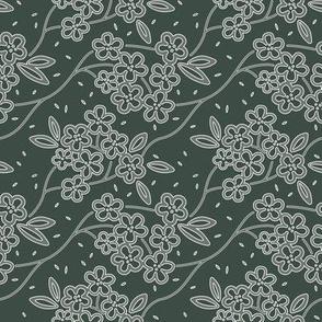 Floralines Green