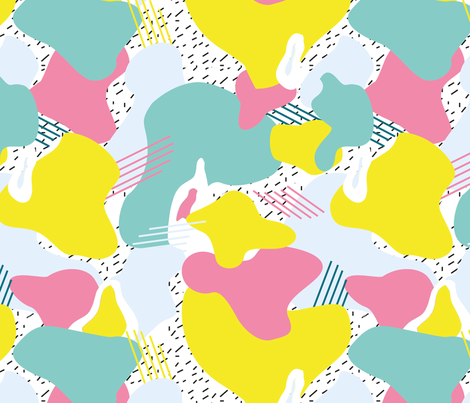 memphis_style fabric by louise_besnier on Spoonflower - custom fabric