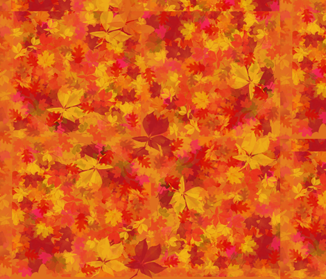 Leaves of Fall fabric by gnarllymamadesigns on Spoonflower - custom fabric