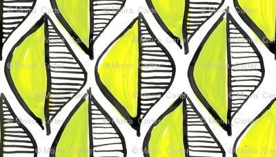 leaf geometric - green