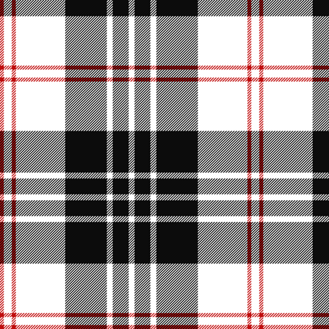 "MacPherson of Cluny tartan, 6"" fabric by weavingmajor on Spoonflower - custom fabric"