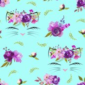 Rrpurple_floral_kittens_aqua_shop_thumb