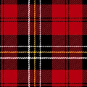 MacPherson of Cluny red tartan, 6""