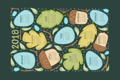 Finch & Forest - Hunter fabric by jaymehennel on Spoonflower - custom fabric