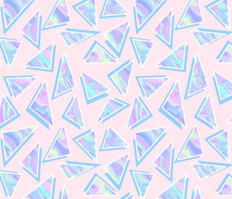 The Memphis Unicorn fabric by raccoongirl on Spoonflower - custom fabric