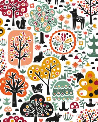 October Forest Walk