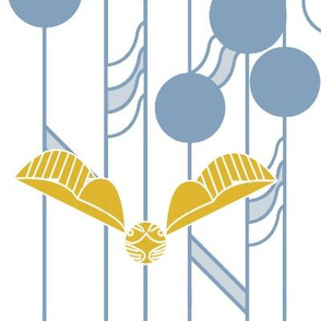 Quidditch Goals Blue