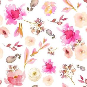 """10"""" Pink Whisper - White"""