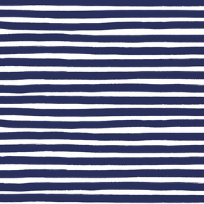 Marker Stripe Navy