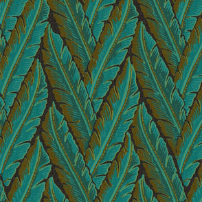 Jungle Leaves 1a