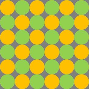 mustard yellow mustard yellow apple green