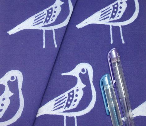 Doodle Bird - Navy